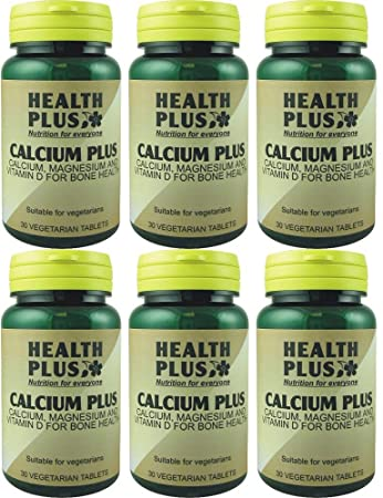 (6 PACK) - Health Plus - Calcium Plus | 30s | 6 PACK BUNDLE