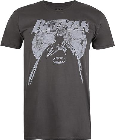 DC Comics Batman Nightfall Camiseta para Hombre: Amazon.es: Ropa y accesorios
