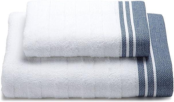 Par de toallas 1 + 1 Modelo Cotton – 100% rizo de puro algodón ...