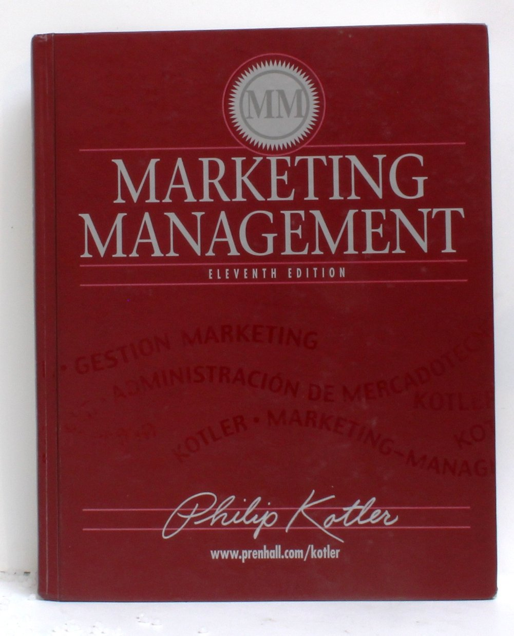 Marketing management 11th edition by philip kotler, books.