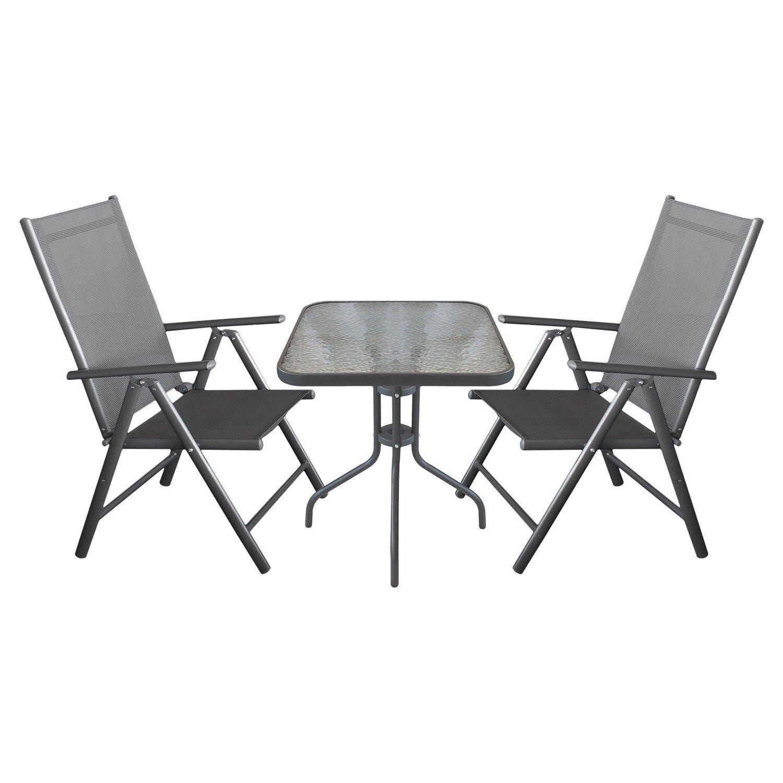3tlg balkonm bel campingm bel gartenm bel terrassenm bel set gartengarnitur sitzgruppe. Black Bedroom Furniture Sets. Home Design Ideas