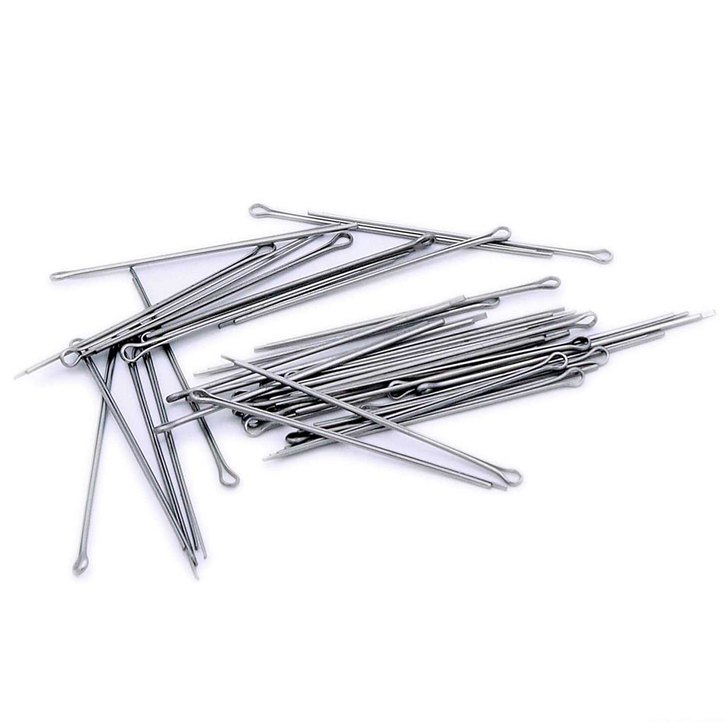 1.2mm x 36mm Split Cotter Pins - Stainless Steel (A2) (Pack of 40) Singularity Supplies Ltd