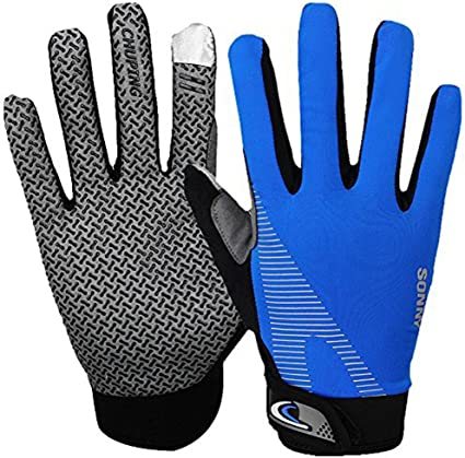 Shock Resistance Cycling Full finger Gloves Exercise Weight Lifting Fitness