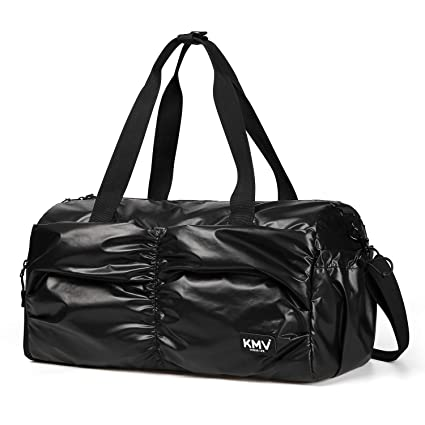 102a79c5b6db3 Gyms Bag with Shoes Compartment Mens/Womens Waterproof Sport&Travel Duffel  Black and Rose Gold