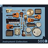 New York Puzzle Company - Jim Golden Instrument Collection - 500 Piece Jigsaw Puzzle