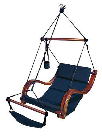 Attractive Hammaka Nami Deluxe Hanging Hammock Lounger Chair In Blue
