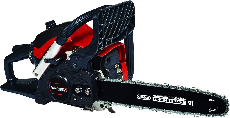 Einhell 4501870 - Sierra de cadena de gasolina, rojo, negro