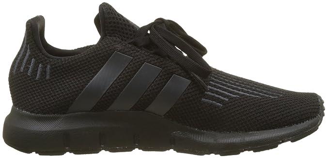 Amazon.com | adidas Unisex Kids Swift Run C Fitness Shoes, White | Athletic