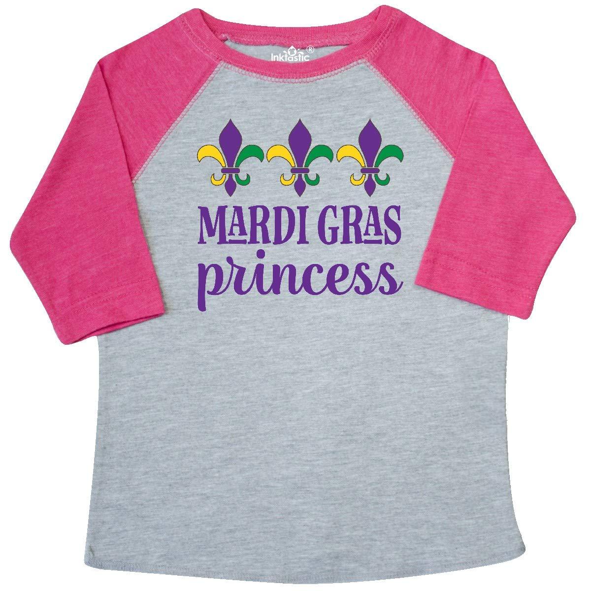 inktastic Mardi Gras Princess Toddler T-Shirt