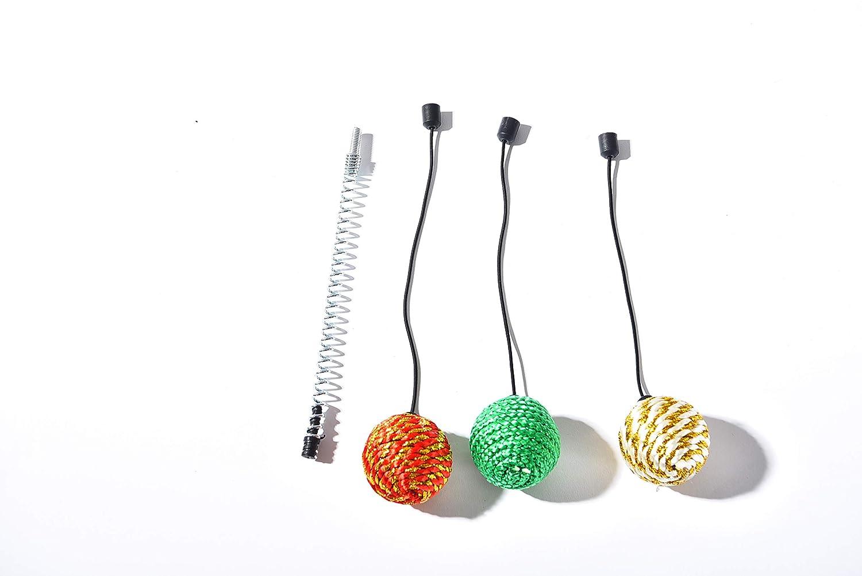 AmazonBasics - Juguetes de bola de resorte de recambio para torres ...