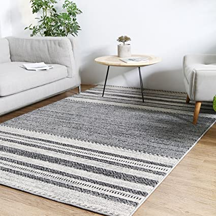 DYW Rugs Nordic Style Decorative Striped