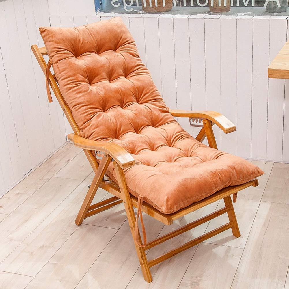 ZGYQGOO Lounge Chaise Kissen, Terrasse Liegestuhl Kissen, Sonnenliege Matratze für Garten Outdoor Indoor Sofa Tatami Autositzbank (nur Kissen) -c 125x48cm (49x19inch)