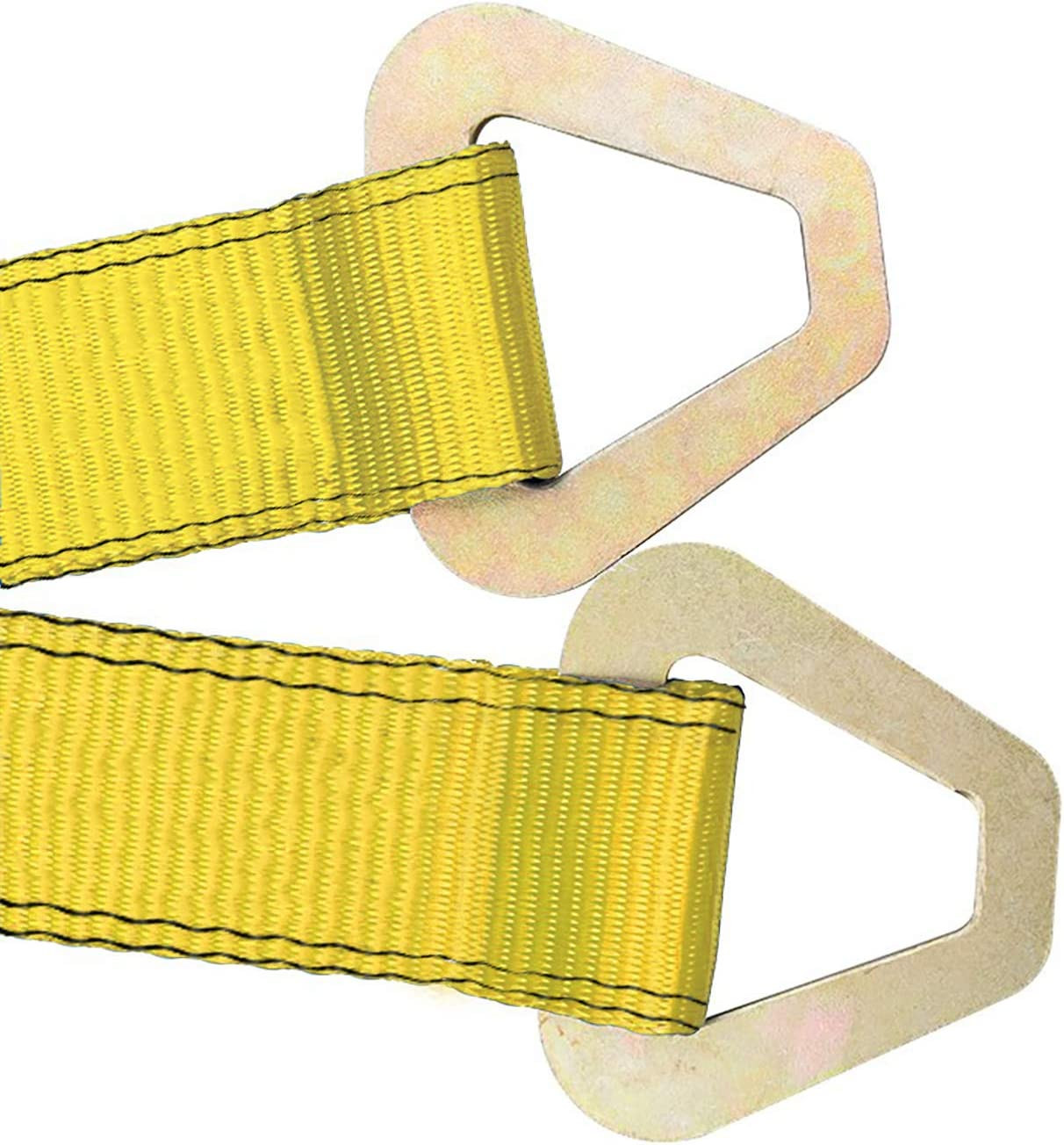 Robbor Axle Straps-2 Pk 36x 2 Premium Car Axle Straps with D-Ring and Protective Sleeve 10,000 lb.Breaking Strength 3,333 lb.Working Load Idea for Low Applications