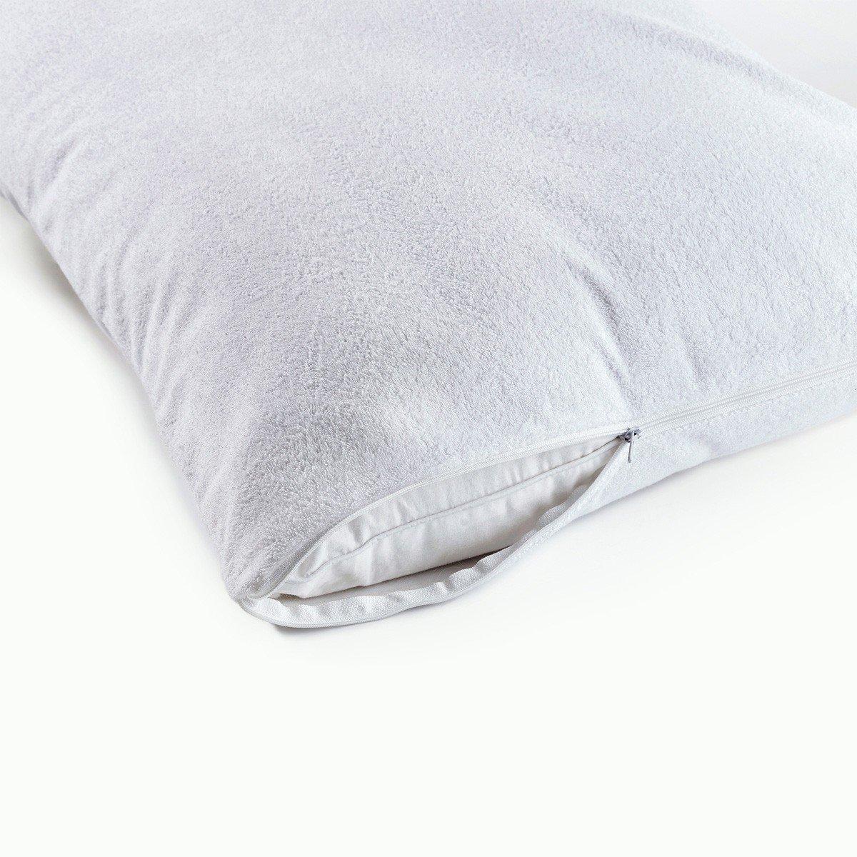 Moonrest – 2 Pack - %100 Waterproof Pillow Protector - Dust Mite, Bacteria, Allergy Control - Encasement - Bed Bug Proof (Standard 20'' x 26'')