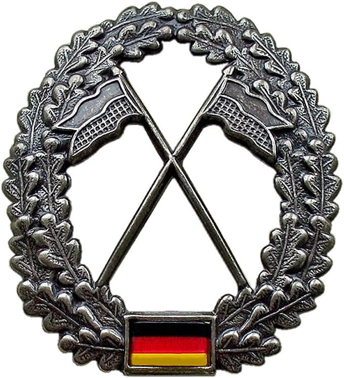 Abzeichen Metall Bw Barettabzeichen Heeresaufklärer chromfarben