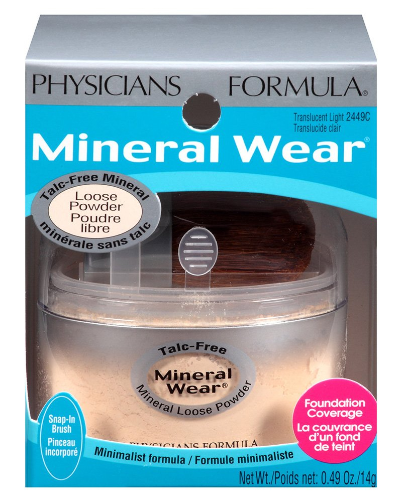 Amazon physicians formula mineral wear talc free loose amazon physicians formula mineral wear talc free loose powder translucent light 049 ounce face powders beauty nvjuhfo Images