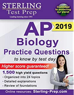 Amazon cliffsnotes ap biology fourth edition 9781118127995 sterling test prep ap biology practice questions high yield ap biology questions fandeluxe Choice Image