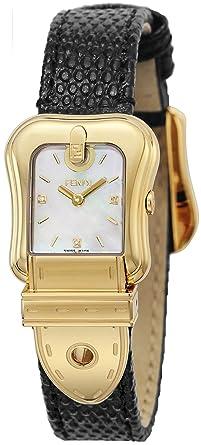 Amazon FENDI Watch B Fendi White Pearl Dial Diamond