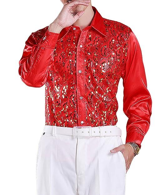 Amazon.com: Cloud Style para hombre camisa de vestir de ...