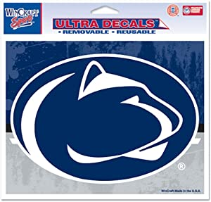 "WinCraft NCAA Penn State University Multi-Use Colored Decal, 5"" x 6"""