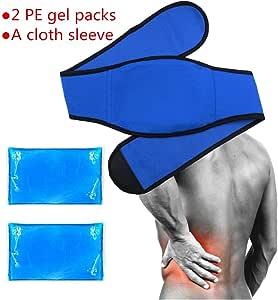 Vientre/Cintura hielo gel Pack para caliente compresa de frío ...