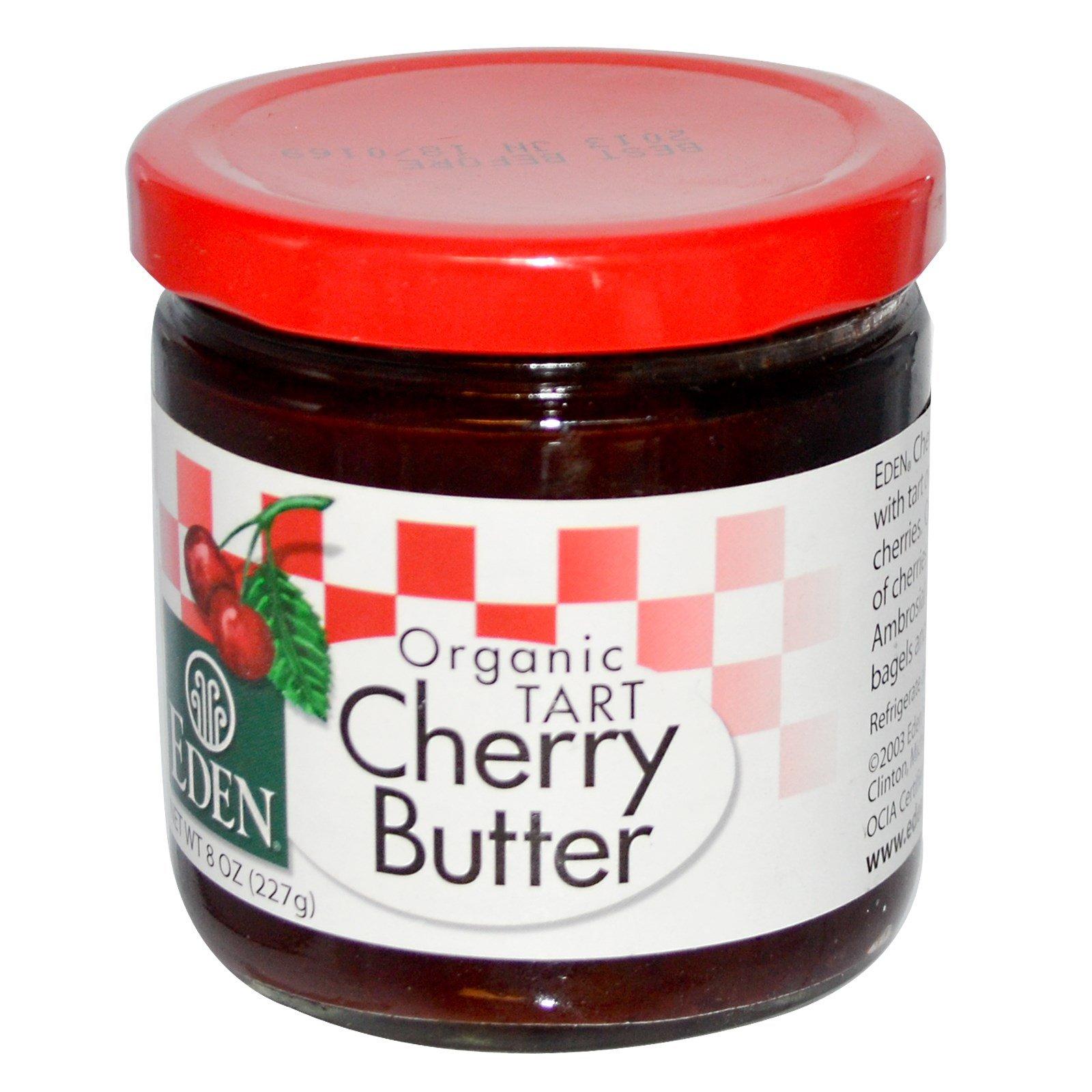 Eden Foods, Organic Tart Cherry Butter, 8 oz (227 g) - 3PC