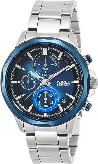 [セイコーウォッチ] 腕時計 ワイアード THE BLUE 「WATER BLUE」 CHRONOGRAPH MODEL AGAT409