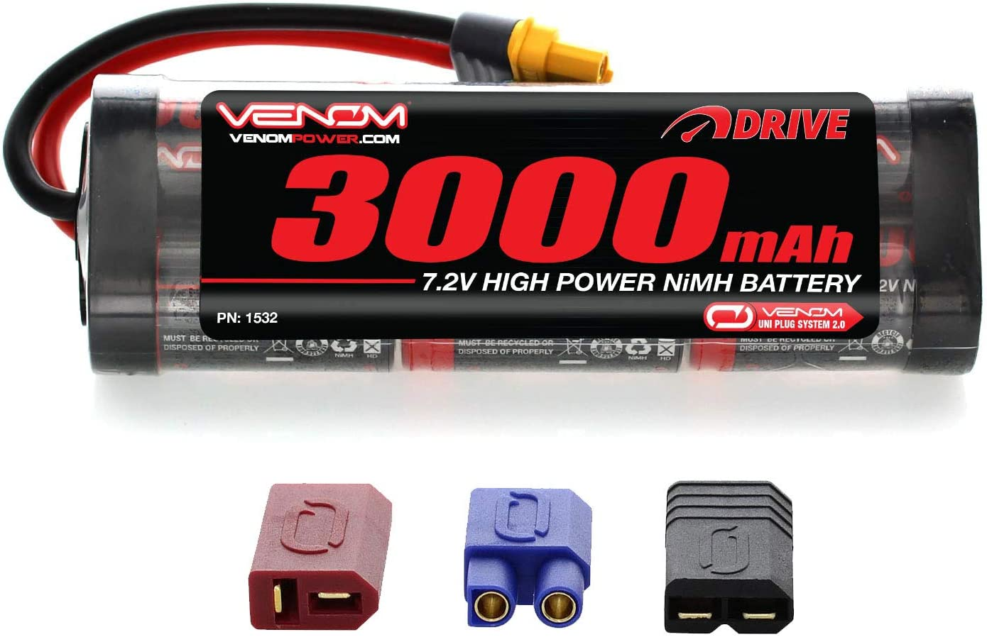 Batterie 6V 3Ah NiMh pour Manivelle Motorisée Cobra