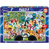 Educa - 16297 - Puzzle Classique - Le Merveilleux Monde De Disney Ii - 1000 Pièces
