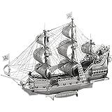 Fascinations ICONX Queen Anne's Revenge Ship 3D Metal Model Kit