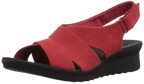 CLARKS Womens Caddell Petal Sandal  B07354SGHX