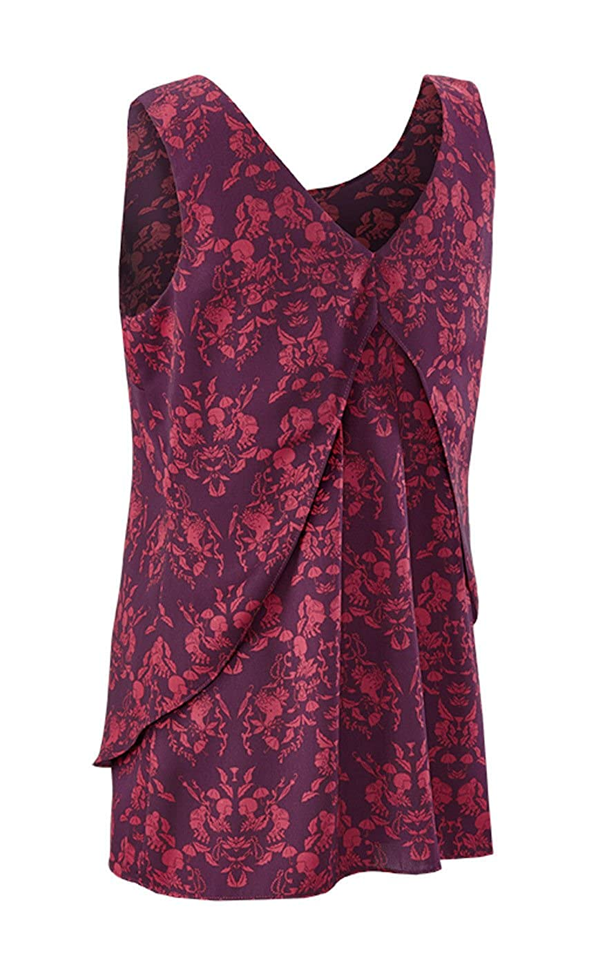 add5d10130e150 CAbi Cameo Plum Blouse at Amazon Women's Clothing store: