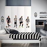North Star Juventus 4 Top Players Decorazione Murale Prefustellata Adesiva, PVC, Multicolore, 50.0x70.0x0.5 cm