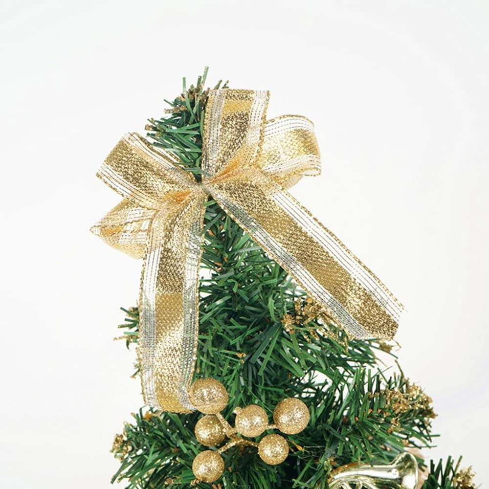 Decorazioni Natalizie 94.Piccola Decorazione Della Tabella Dell Albero Di Natale Albero Di Natale Miniatura Altezza 40cm Amazon It Casa E Cucina
