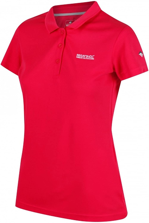 Regatta Damen Womens Maverick Iv Quick Drying Active Polohemd