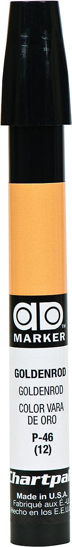 The Original Chartpak AD Marker, Tri-Nib, Goldenrod, 1 Each (P46)