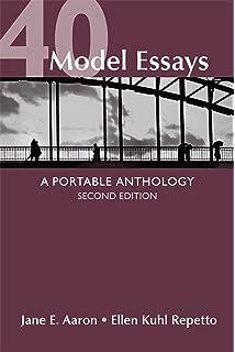 Amazon com 40 model essays a portable anthology 9780312438296