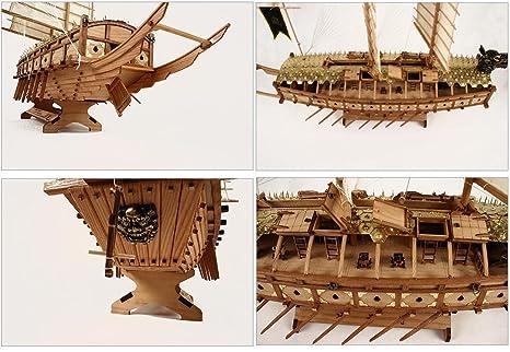 Amazon.com: [Madera Kit modelo] 1/65 escala tortuga Ship ...