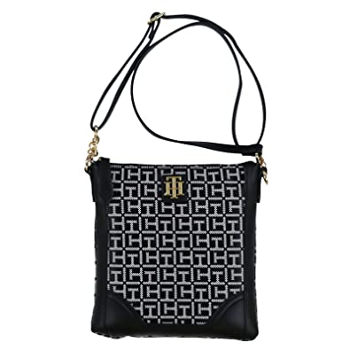 Amazon.com: Tommy Hilfiger Monogram - Monedero, negro, talla ...