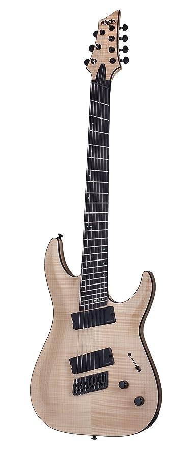 Schecter solid-body 1366 (7 cuerdas Guitarra eléctrica, brillante ...