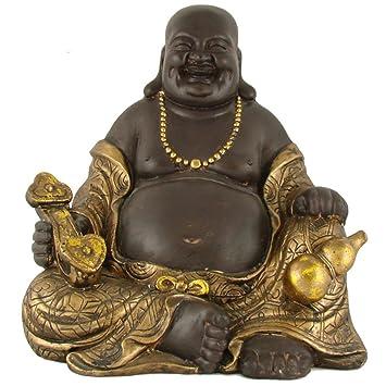 tao der glckliche buddha 30cm die perfekte feng shui dekoration fr ihr wohnzimmer - Buddha Deko Wohnzimmer