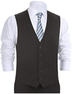 Aoyog Mens Formal Business Vest For Suit Or Tuxedo At Amazon Mens