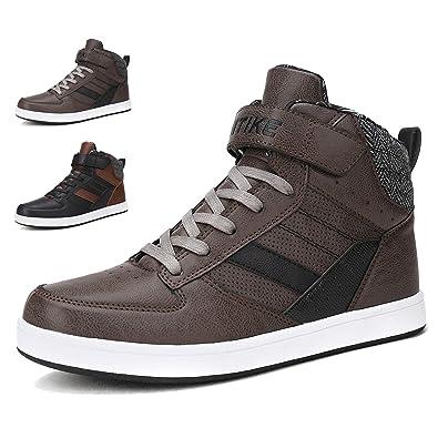 Shoes Men Sport High Top Sneakers Casual Slip On Women Street Skateboard  Shoes Running Walking Classic 826c130419