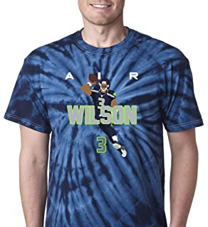 """Russell Wilson Seattle Seahawks /""""AIR PIC/"""" jersey T-shirt Shirt or Long Sleeve"""