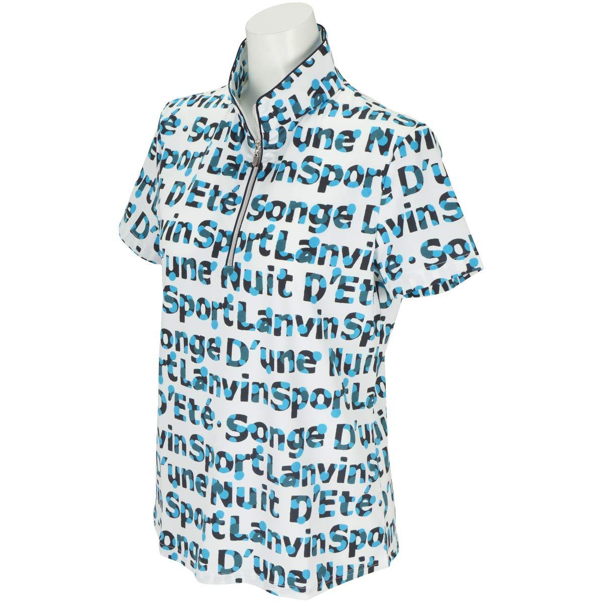 ポロシャツ レディース ランバン スポール LANVIN SPORT 日本正規品 2019 春夏 ゴルフウェア vln1562y6   B07QHRFDHH