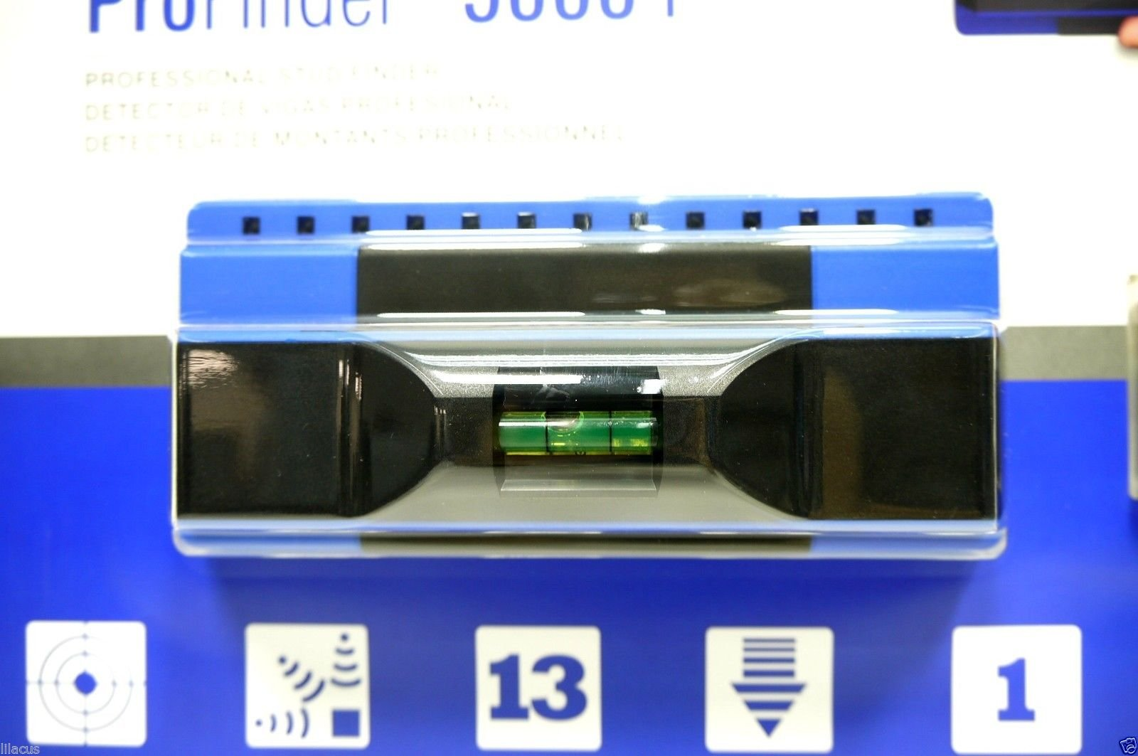 Professional Precision Sensors Profinder 5000+ with Built in Level Construction Stud Finder Construction