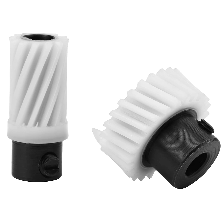 2 Pcs Plastic Drive Gear Shaft Gear, Singer Sewing Machine Gear Kit 174488 and 174491 Walfront 4336993529