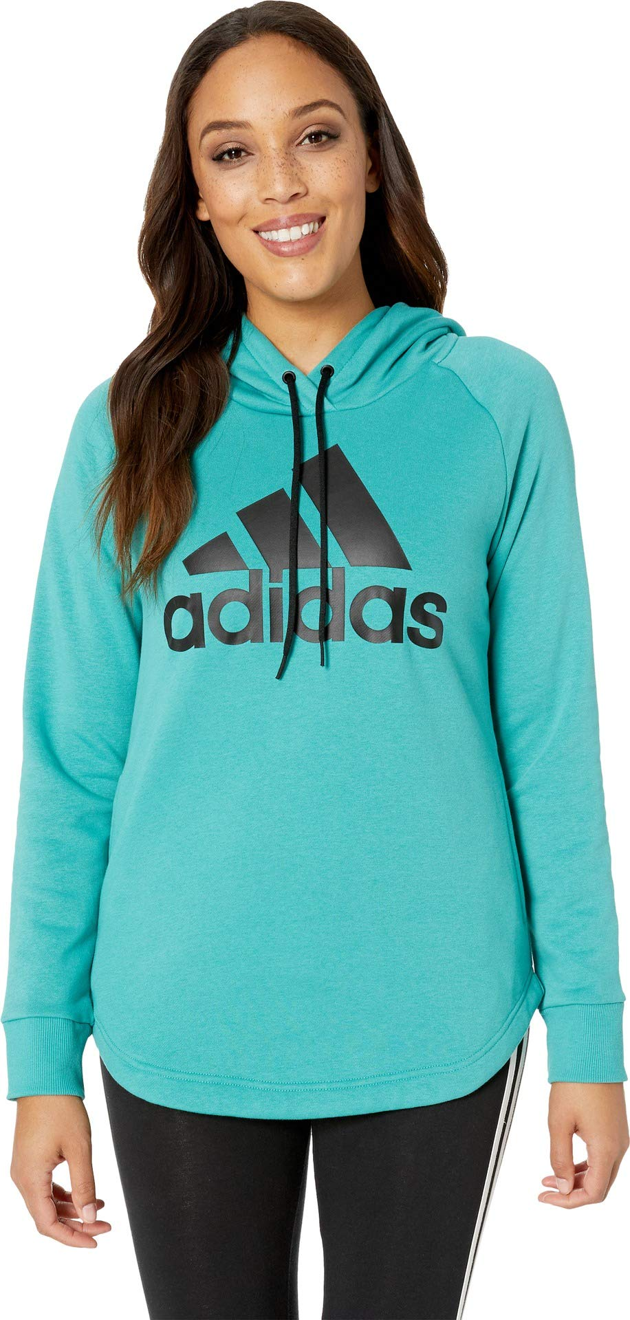 adidas Women's Must Have Hoodie True Green X-Small