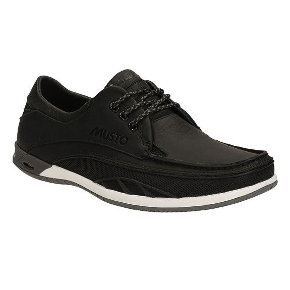 Clarks Orson Drift Musto Schuhe in dunkelgrau Bootsschuhe