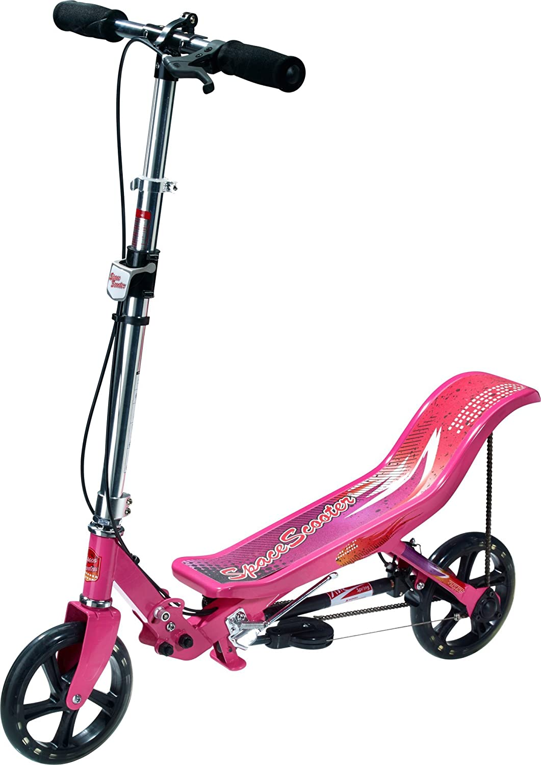 Space Scooter - Patinete, Color Rosa (X580PINK)